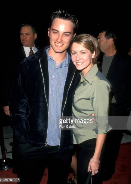 Kerr Smith and Ali Hillis at the Premiere of 'Cookie's Fortune' Cineplex Odeon Theater Los Angeles