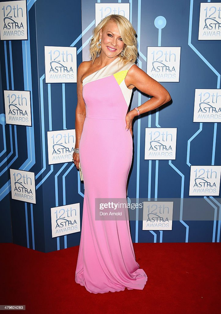 Kerri -Anne Kennerley attends the 12th Astra Awards at Carriageworks on March 20, 2014 in Sydney, Australia.