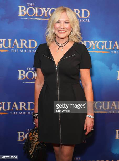KerriAnne Kennerley arrives ahead of opening night of The Bodyguard The Musical at Lyric Theatre Star City on April 27 2017 in Sydney Australia