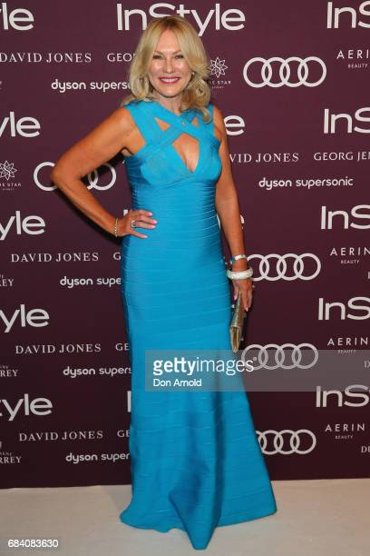 KerriAnne Kennerley arrives ahead of the Women of Style Awards at The Star on May 17 2017 in Sydney Australia