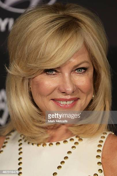 Kerrianne Kennerley arrives at the 4th AACTA Awards Luncheon at The Star on January 27 2015 in Sydney Australia