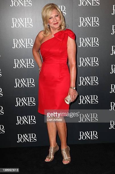KerriAnne Kennerley arrives at the David Jones Autumn/Winter 2012 season launch at the David Jones Elizabeth Street Store on February 15 2012 in...