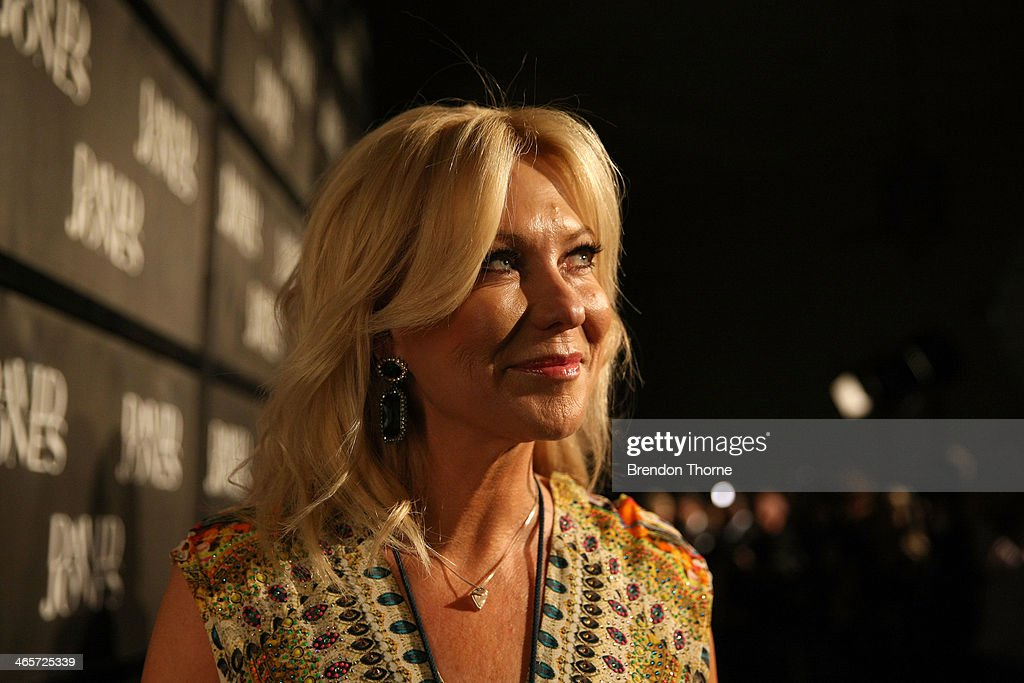 <a gi-track='captionPersonalityLinkClicked' href=/galleries/search?phrase=Kerri-Anne+Kennerley&family=editorial&specificpeople=239056 ng-click='$event.stopPropagation()'>Kerri-Anne Kennerley</a> arrives at the David Jones A/W 2014 Collection Launch at the David Jones Elizabeth Street Store on January 29, 2014 in Sydney, Australia.