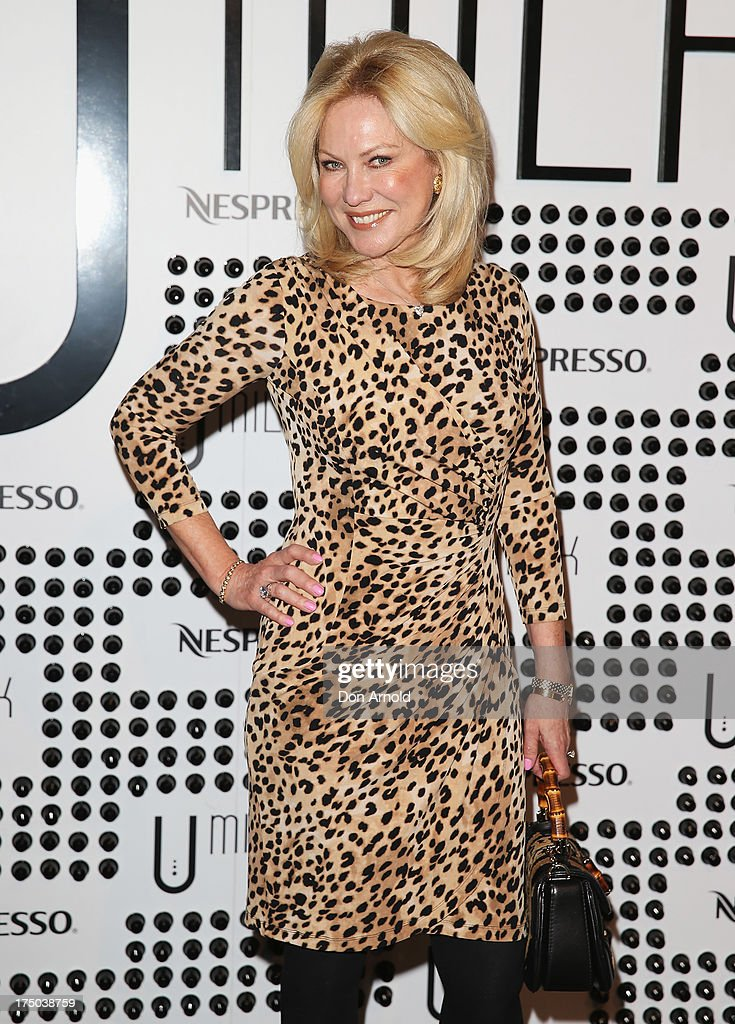 Kerri-Anne Kennerley arrives at the Nespresso Umilk machine launch on July 30, 2013 in Sydney, Australia.