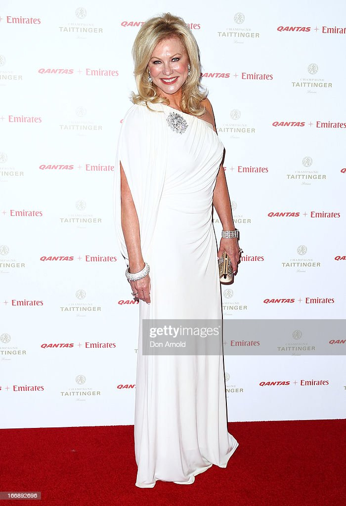 Kerri-Anne Kennerley attends the QANTAS Gala Dinner at Sydney Domestic Airport on April 18, 2013 in Sydney, Australia.