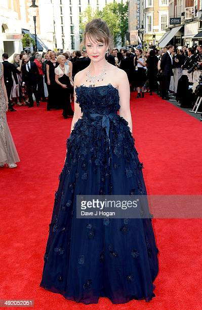 Kerrie Hayes attends the Arqiva British Academy Television Awards at Theatre Royal on May 18 2014 in London England
