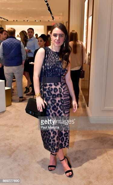Kerrie Mitchell Burke attends the Opening of the Salvatore Ferragamo Copley Place store on November 2 2017 in Boston Massachusetts