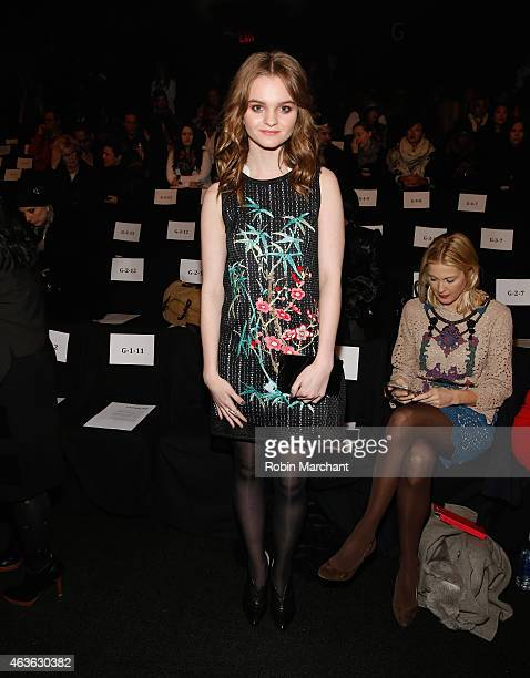 Kerris Dorsey attends Vivienne Tam at The Theatre at Lincoln Center on February 16 2015 in New York City
