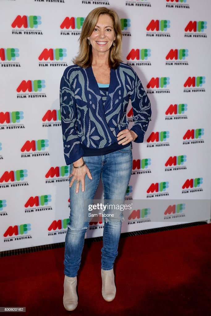 Kerry Armstrong arrives ahead of a screening of Shame as part of the 66th Melbourne International Film Festival on August 13, 2017 in Melbourne, Australia.