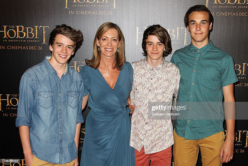 Kerry Armstrong attends the Melbourne premiere of 'The Hobbit: An Unexpected Journey' at Village Cinemas on December 18, 2012 in Melbourne, Australia.