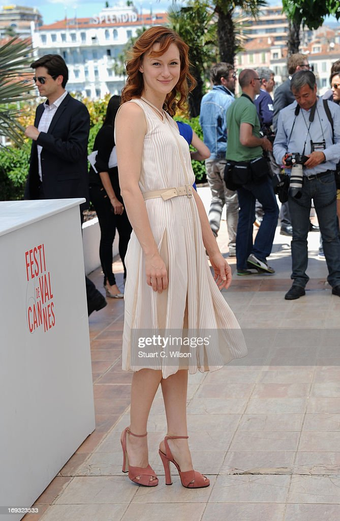 Kerry Bishe attends the 'Max Rose' photocall during The 66th Annual Cannes Film Festival at the Palais des Festivals on May 23, 2013 in Cannes, France.