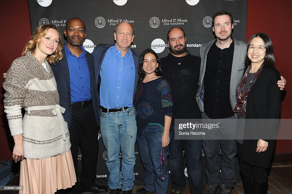Kerry Bishe Clifford Johnson Doron Weber Cirro Guerra Cristina Gallego Mike Cahill and Ting Wu attend the Alfred P Sloan Foundation Reception and...