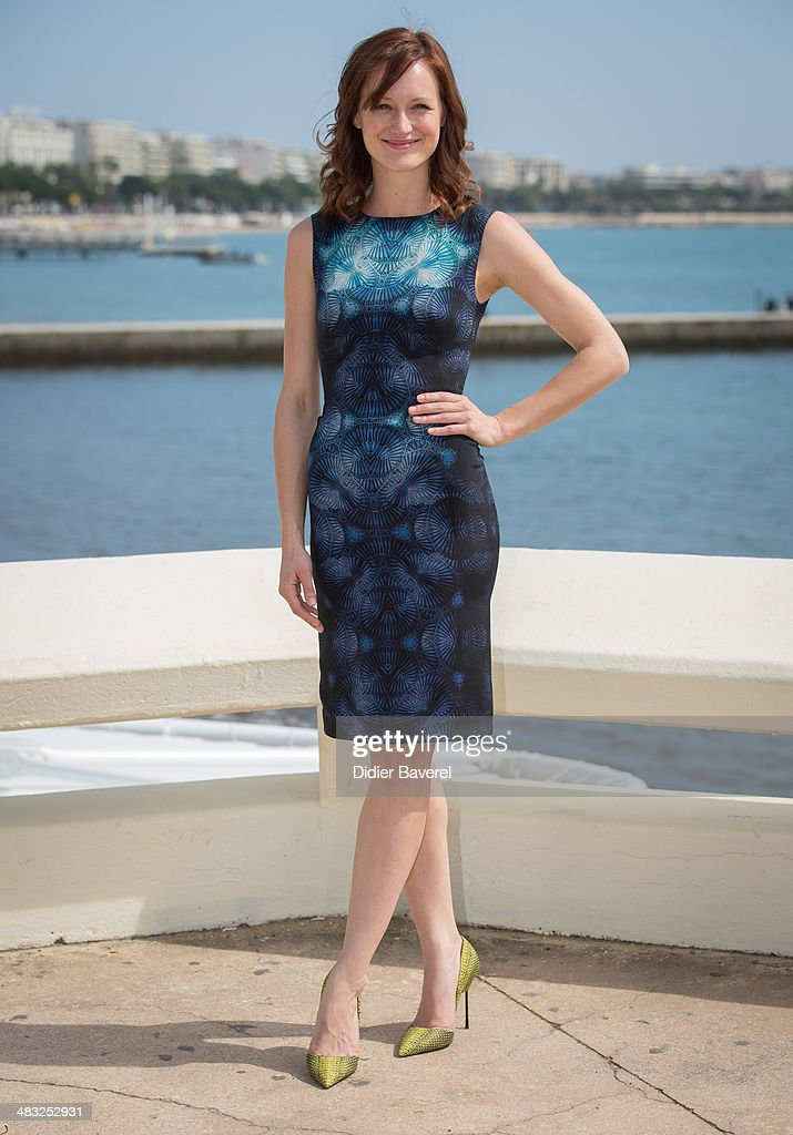 <a gi-track='captionPersonalityLinkClicked' href=/galleries/search?phrase=Kerry+Bishe&family=editorial&specificpeople=4584762 ng-click='$event.stopPropagation()'>Kerry Bishe</a> poses during the photocall of 'Halt & Catch Fire' at MIPTV 2014 at Hotel Majestic on April 7, 2014 in Cannes, France.