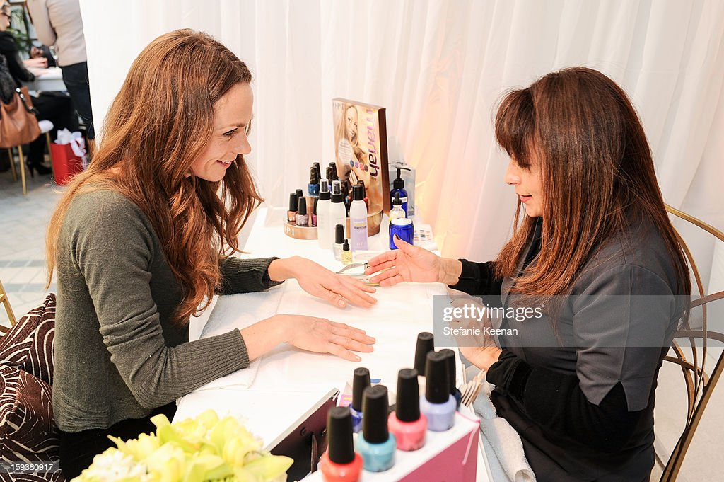 Kerry Condon attends 2013 InStyle Beauty Lounge - Day 2 at Four Seasons Hotel Los Angeles at Beverly Hills on January 12, 2013 in Beverly Hills, California.