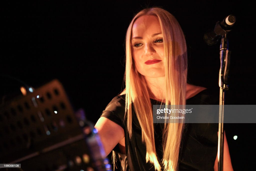 <a gi-track='captionPersonalityLinkClicked' href=/galleries/search?phrase=Kerry+Ellis&family=editorial&specificpeople=3057607 ng-click='$event.stopPropagation()'>Kerry Ellis</a> performs on stage as part of the <a gi-track='captionPersonalityLinkClicked' href=/galleries/search?phrase=Kerry+Ellis&family=editorial&specificpeople=3057607 ng-click='$event.stopPropagation()'>Kerry Ellis</a> & Brian May Born Free Tour at the Union Chapel on November 11, 2012 in London, England.