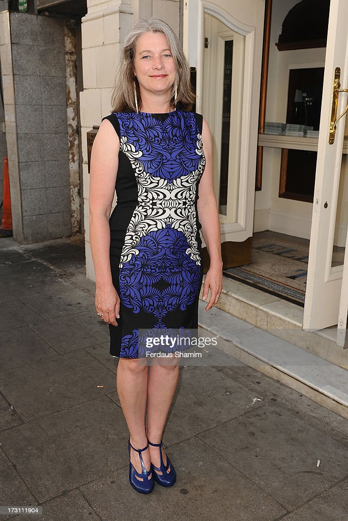 Kerry Fox attends the UK Premiere of 'Trap For Cinderella' at The Electric Cinema on July 7, 2013 in London, England.