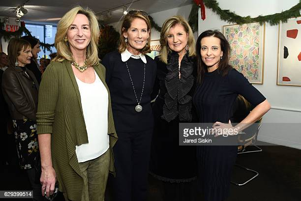 Kerry Healey Perri Peltz Arianna Huffington and Dina Powell attend Hearst Chief Content Officer Joanna Coles Hosts the Hearst 100 Luncheon at...