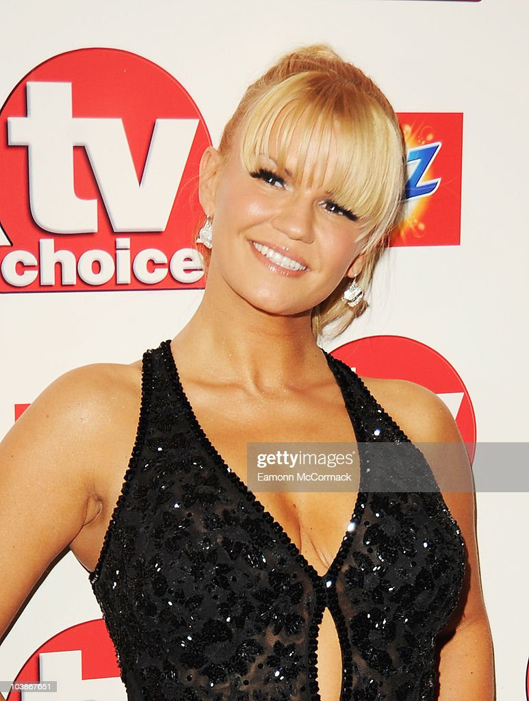 Kerry Katona arrives at the TVChoice Awards 2010 held at The Dorchester on September 6, 2010 in London, England.
