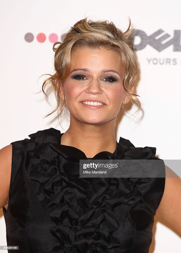 Kerry Katona attends the 2008 MTV Europe Music Awards at the Liverpool Echo Arena on November 6 2008 in London England