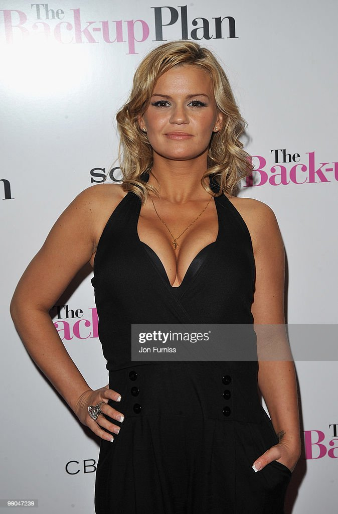 Kerry Katona attends 'The Back Up Plan' film premiere at the Vue Leicester Square on April 28 2010 in London England