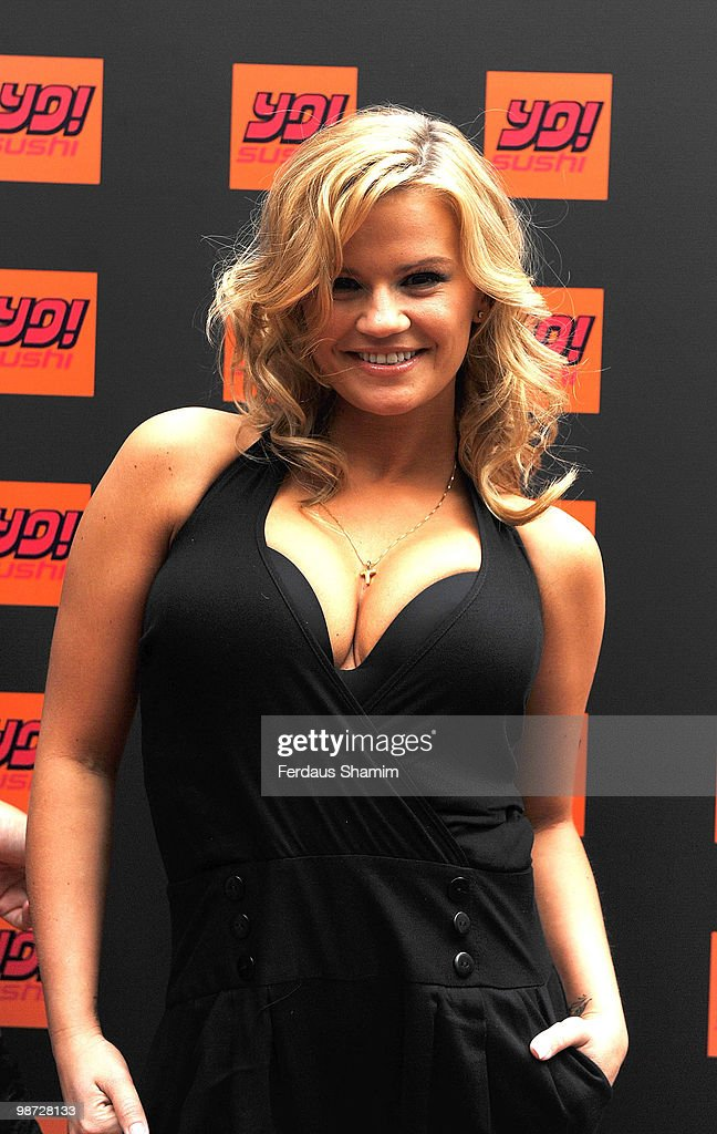 Kerry Katona attends the launch of Yo Sushi Market Place on April 28 2010 in London England