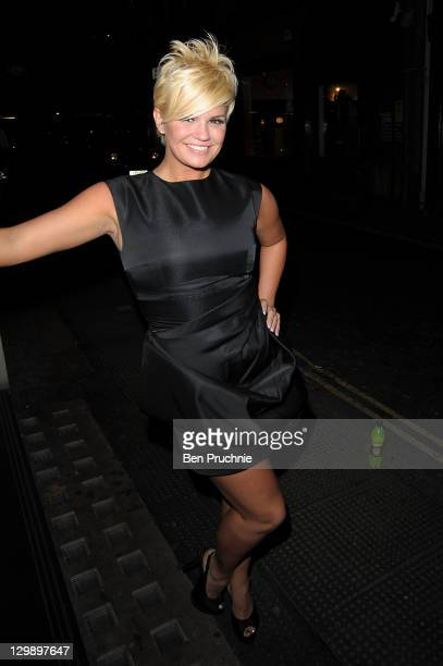 Kerry Katona sighted in London on October 21 2011 in London England