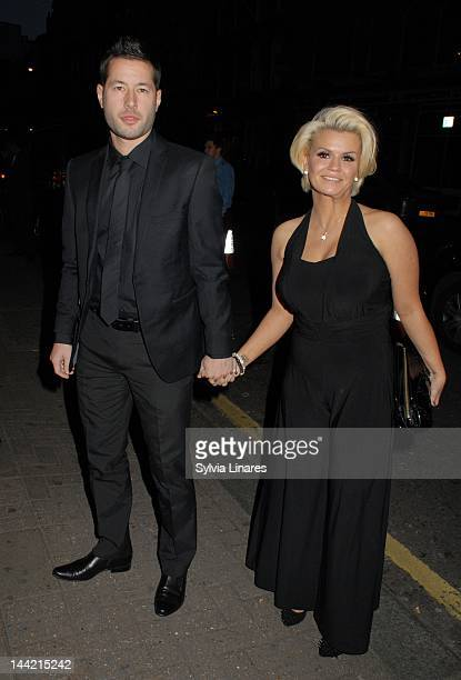 Kerry Katona sighting at The Grand Connaught Rooms on May 11 2012 in London England