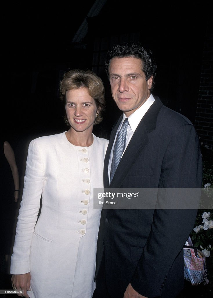 Kerry Kennedy and Andrew Cuomo during George Magazine Creative Coalition Host Fundraiser to Benefit CRPF at L Bender's Home in Los Angeles California...