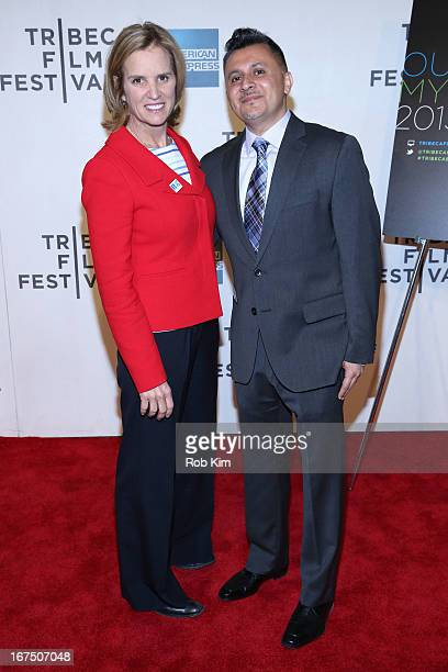 Kerry Kennedy and Ruben Blades attend TFI Education Our City My Story during the 2013 Tribeca Film Festival on April 25 2013 in New York City