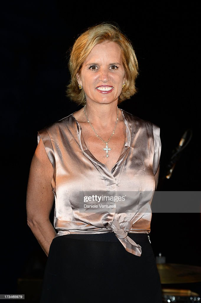<a gi-track='captionPersonalityLinkClicked' href=/galleries/search?phrase=Kerry+Kennedy&family=editorial&specificpeople=632610 ng-click='$event.stopPropagation()'>Kerry Kennedy</a> attends Day 2 of the 2013 Ischia Global Fest on July 14, 2013 in Ischia, Italy.