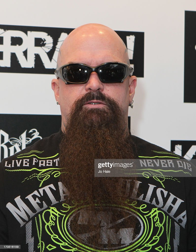<a gi-track='captionPersonalityLinkClicked' href=/galleries/search?phrase=Kerry+King&family=editorial&specificpeople=236089 ng-click='$event.stopPropagation()'>Kerry King</a> attends The Kerrang! Awards at the Troxy on June 13, 2013 in London, England.