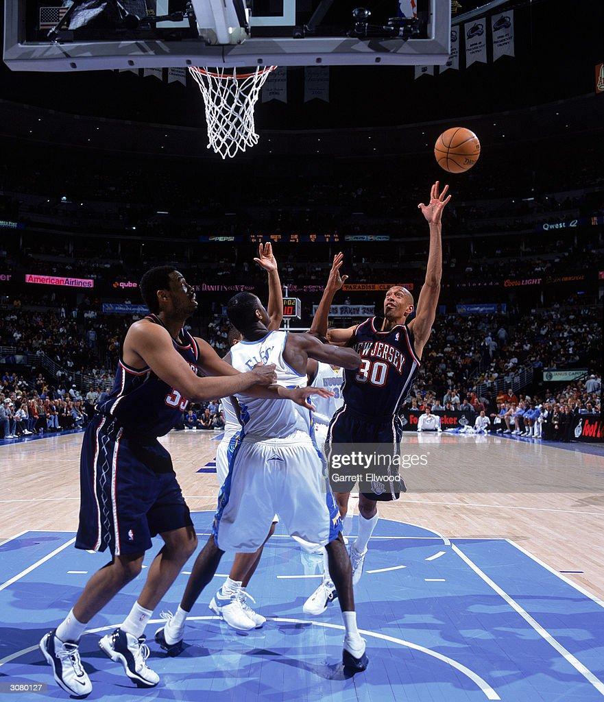 New Jersey Nets v Denver Nug s s and