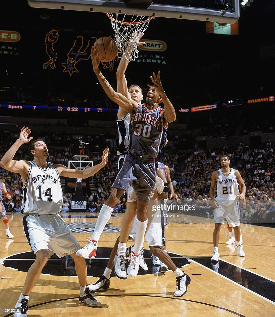 New Jersey Nets v San Antonio Spurs s and