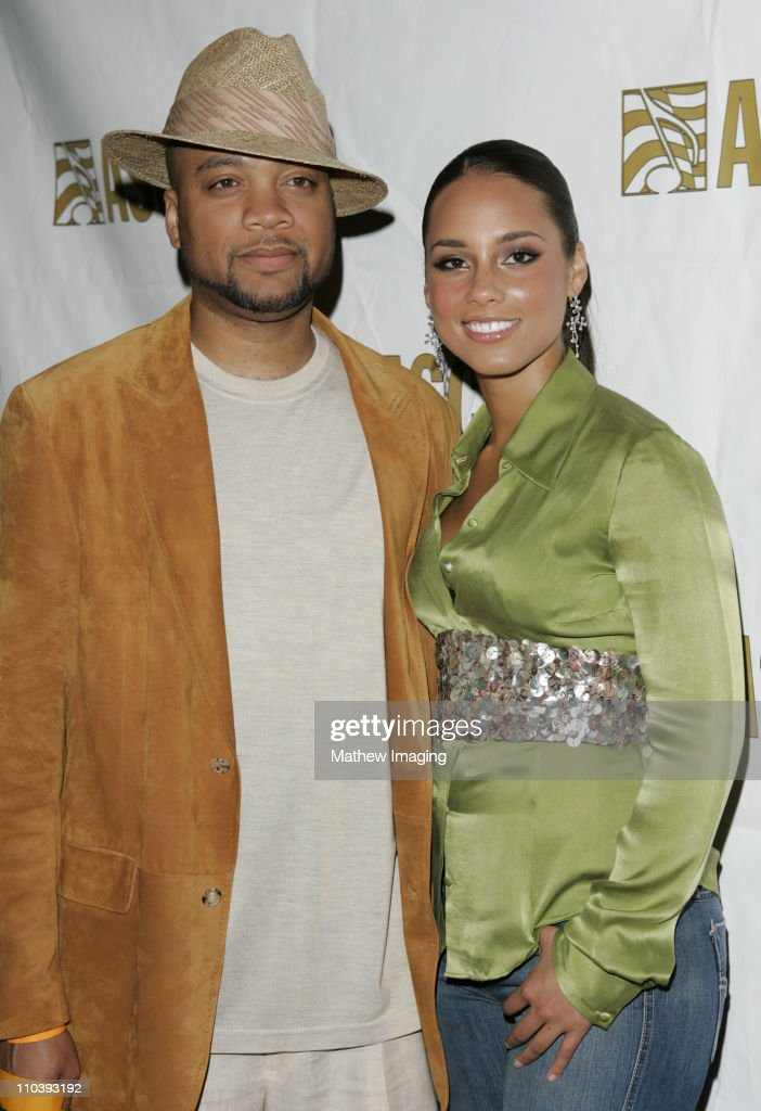 Kerry 'Krucial' Brothers and Alicia Keys during The 18th Annual Rhythm Soul Music Awards Arrivals at The Beverly Hills Hotel in Beverly Hills...