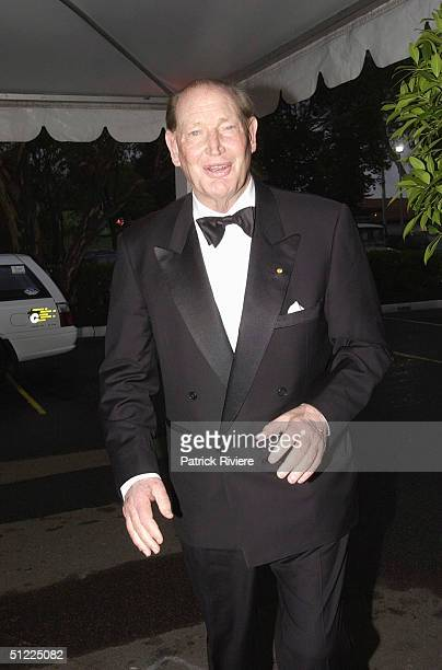 Kerry Packer at the Channel Nine predrinks party for Brian Henderson 'Toasted and Roasted' Special farwell after 46 years in TV in Sydney