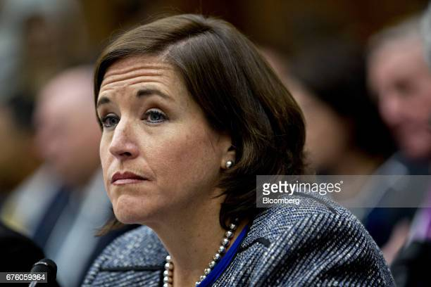 Kerry Philipovitch senior vice president of customer experience of American Airlines Group Inc listens during a House Transportation and...