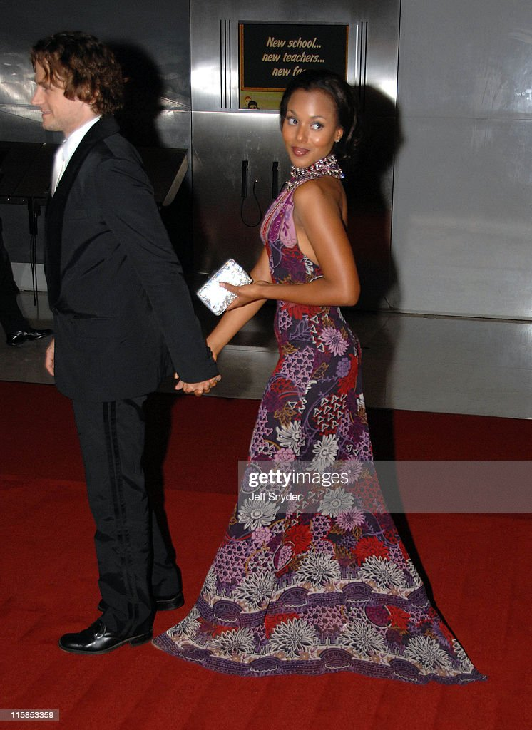 Kerry Washington and fiance David Moscow during 2006 National Dream Dinner Gala to Celebrate the Martin Luther King Jr Memorial Groundbreaking at...