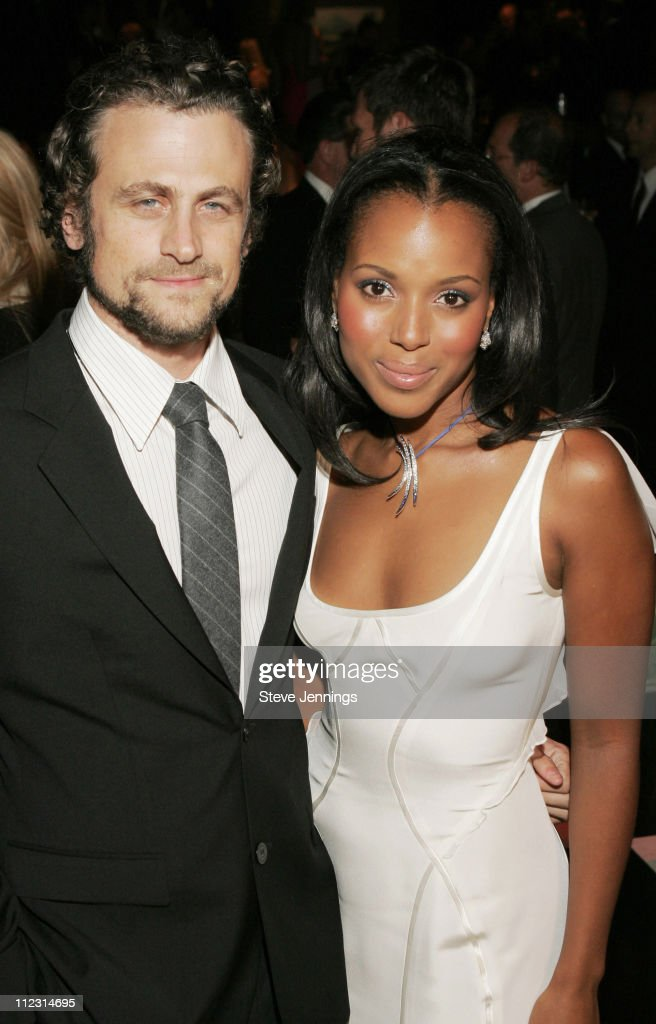 Kerry Washington and fiance David Moscow during Macy's Passport 2005 Gala with Movado's Kerry Washington at Herbst Festival Pavilions Fort Mason...