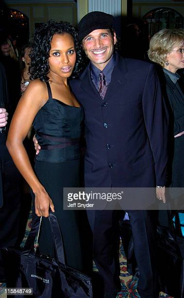 Kerry Washington and Phillip Bloch during The Creative Coalition's 2005 Capitol Hill Spotlight Awards at Willard Intercontinental Hotel in Washington...