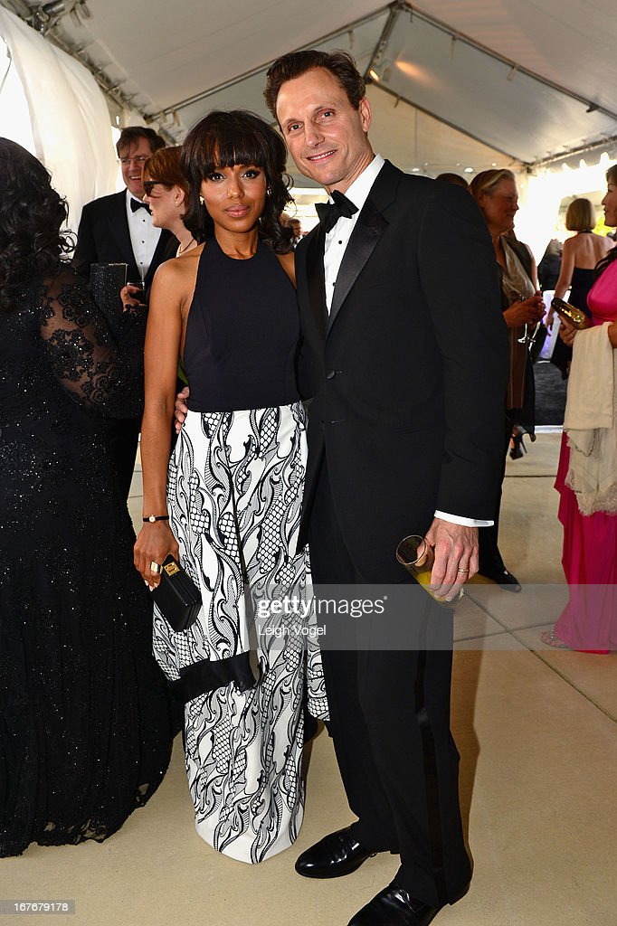 <a gi-track='captionPersonalityLinkClicked' href=/galleries/search?phrase=Kerry+Washington&family=editorial&specificpeople=201534 ng-click='$event.stopPropagation()'>Kerry Washington</a> and <a gi-track='captionPersonalityLinkClicked' href=/galleries/search?phrase=Tony+Goldwyn&family=editorial&specificpeople=234897 ng-click='$event.stopPropagation()'>Tony Goldwyn</a> attend ABC News, Yahoo! News, Univision Pre-White House Correspondents Dinner cocktail reception at Washington Hilton on April 27, 2013 in Washington, DC.