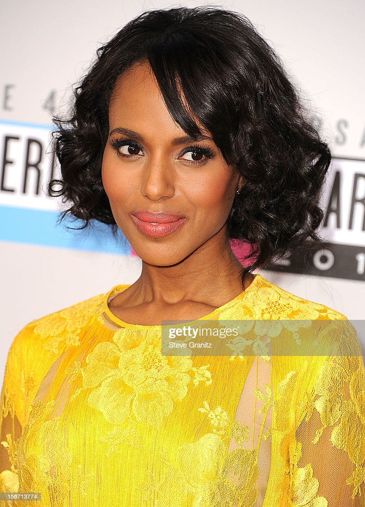 Kerry Washington arrives at the 40th Anniversary American Music Awards at Nokia Theatre L.A. Live on November 18, 2012 in Los Angeles, California.