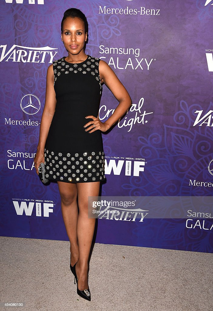 Kerry Washington arrives at the Variety And Women In Film Annual Pre-Emmy Celebration at Gracias Madre on August 23, 2014 in West Hollywood, California.