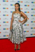 Kerry Washington arrives for the formal Artist's Dinner honoring the recipients of the 38th Annual Kennedy Center Honors hosted by United States...