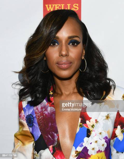 Kerry Washington at the 2017 GLSEN Respect Awards at the Beverly Wilshire Hotel on October 20 2017 in Los Angeles California