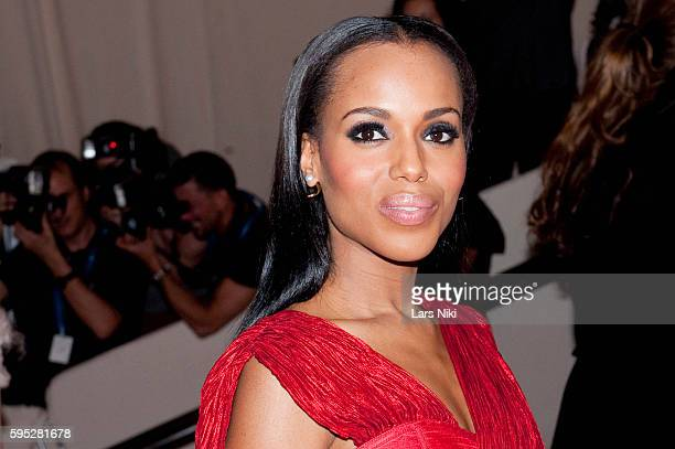 Kerry Washington attends 'American Woman Fashioning A National Identity' Costume Institute Gala at The Metropolitan Museum of Art in New York City