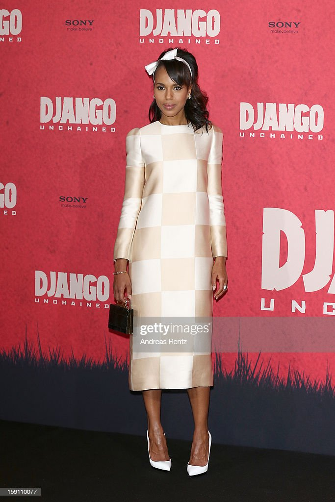 Kerry Washington attends 'Django Unchained' Berlin Photocall at Hotel de Rome on January 8 2013 in Berlin Germany