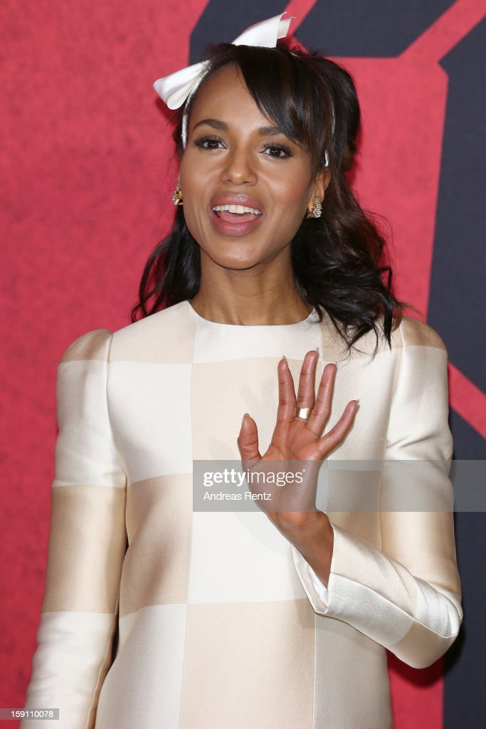 <a gi-track='captionPersonalityLinkClicked' href=/galleries/search?phrase=Kerry+Washington&family=editorial&specificpeople=201534 ng-click='$event.stopPropagation()'>Kerry Washington</a> attends 'Django Unchained' Berlin Photocall at Hotel de Rome on January 8, 2013 in Berlin, Germany.