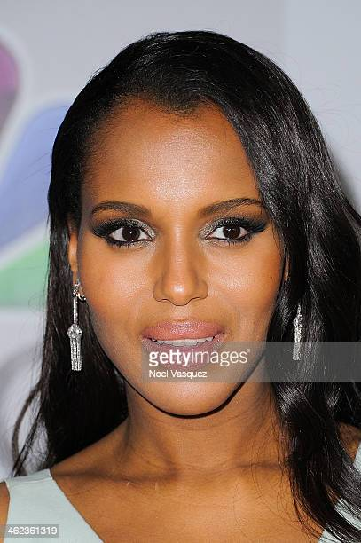 Kerry Washington attends NBC Universal's 71st Annual Golden Globe Awards After Party at The Beverly Hilton Hotel on January 12 2014 in Beverly Hills...
