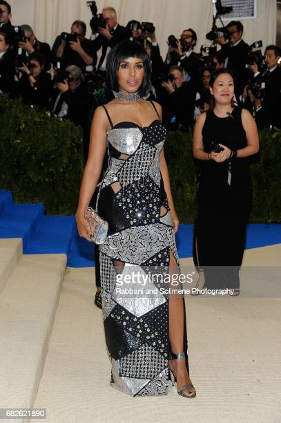 Kerry Washington attends 'Rei Kawakubo/Comme des Garcons Art Of The InBetween' Costume Institute Gala Arrivals at Metropolitan Museum of Art on May 1...