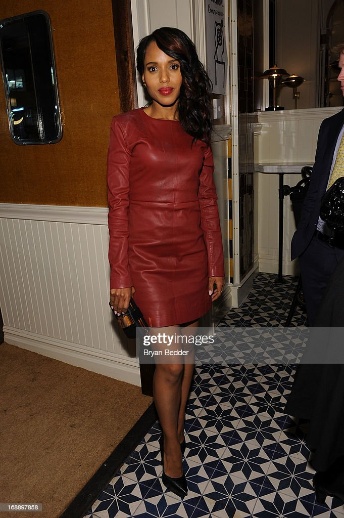 Kerry Washington attends the 2013 CAA Upfronts Party on May 14, 2013 in New York City.